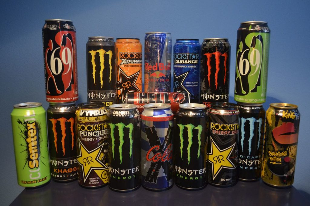 Taking much of energy drinks