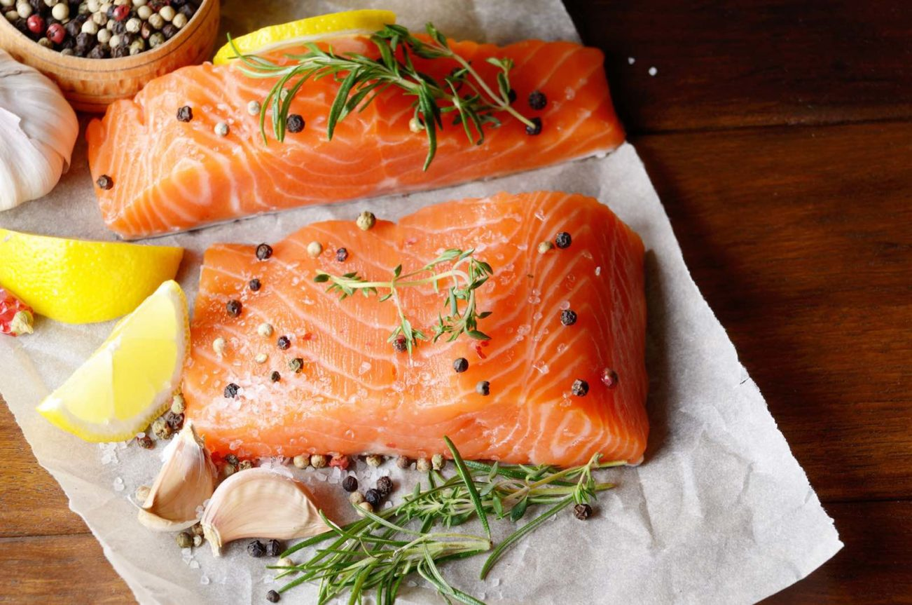 Food to prevent heart attack-Salmon