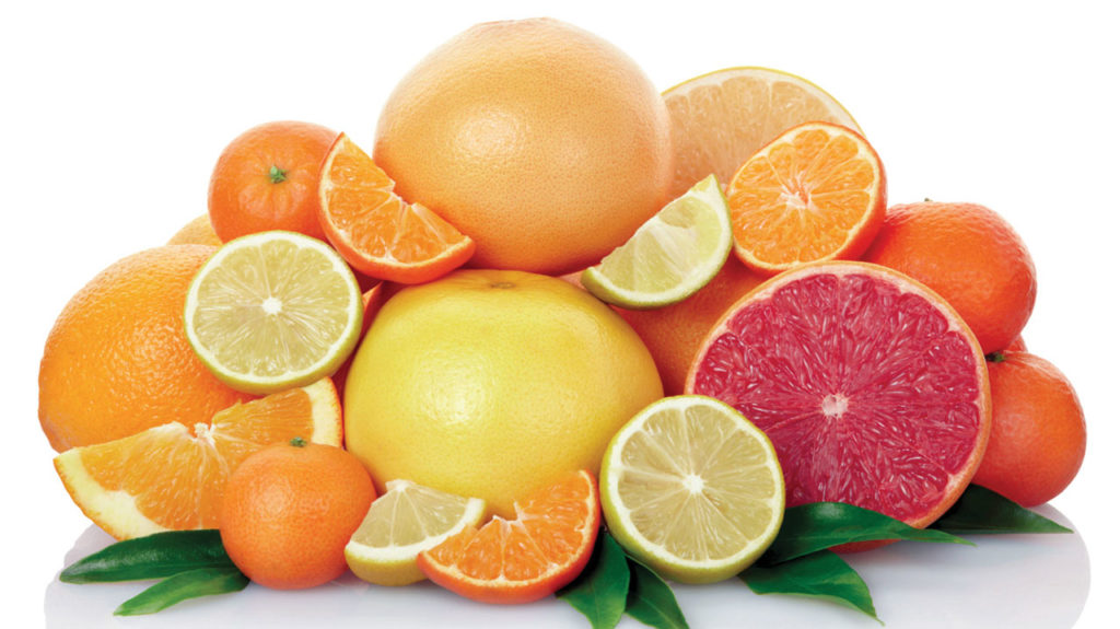 Food to prevent heart attack-citrus fruits