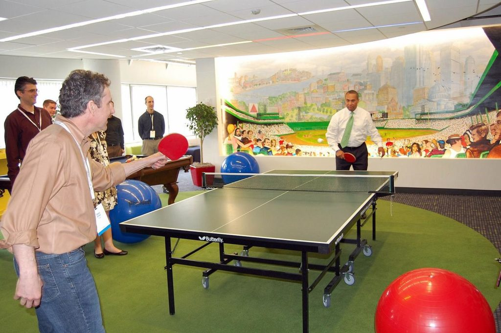 15 Tips To Become The Most Productive Person You Know-Ping-Pong can increase productivity
