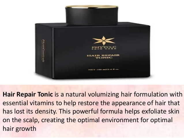hair repair tonic